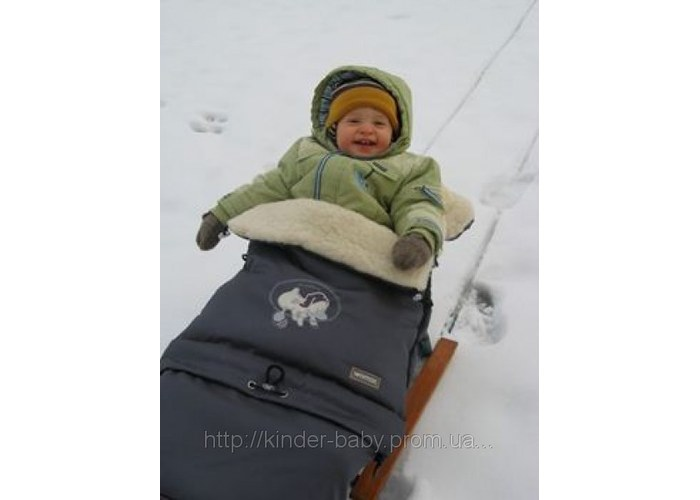 Мешок в коляску зимний для годовалого